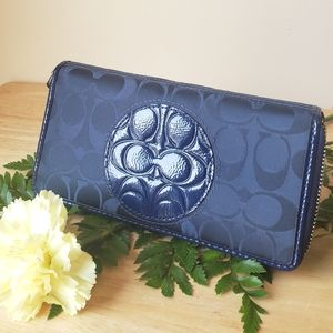 Blue Signature Wallet